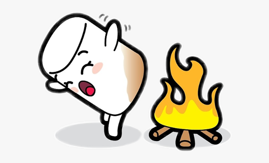 Marshmallow Toasty Butt Clipart , Png Download.