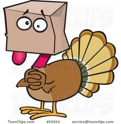Funny turkey clipart » Clipart Station.