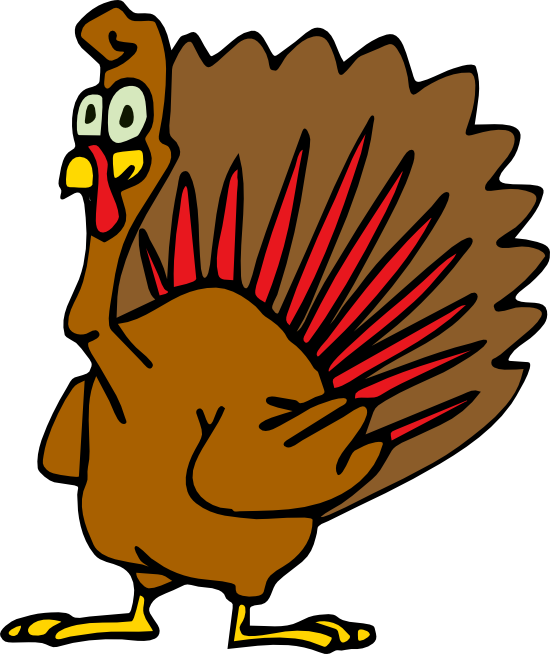 Free Turkey Clipart and Animations.