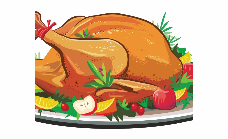 Feast Clipart Cooked Turkey.