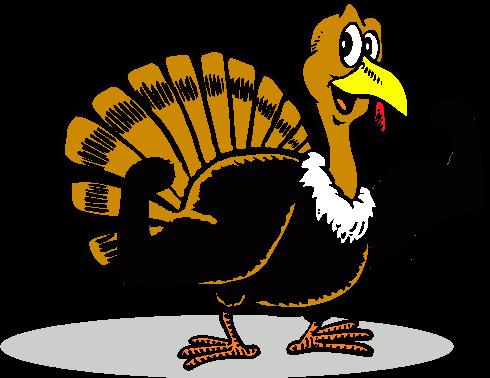 Turkey Workout Clipart.