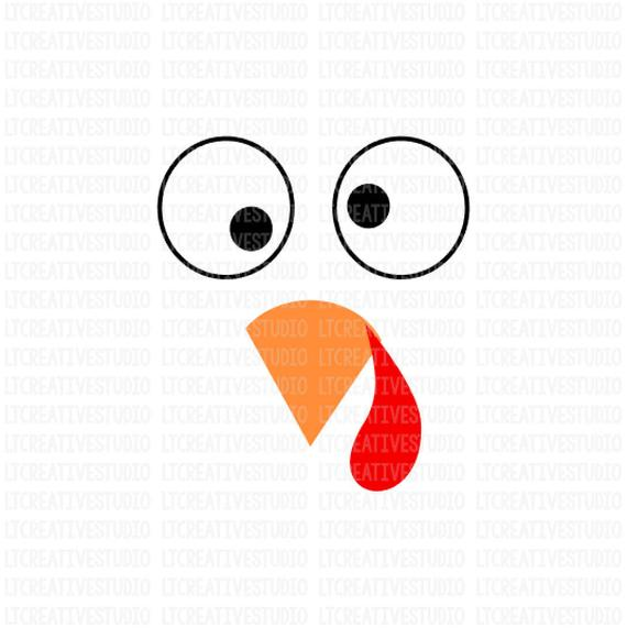 Turkey SVG, Turkey Face SVG, Thanksgiving SVG, Thanksgiving.