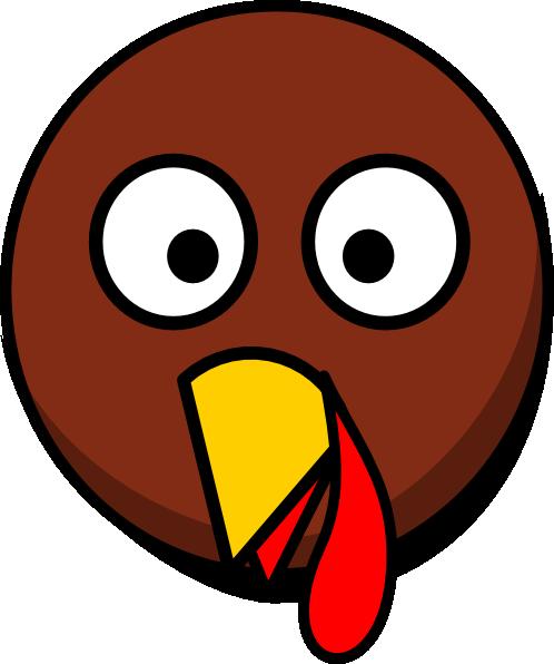 Turkey Head Clipart.