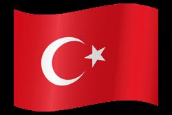 Turkey flag icon.