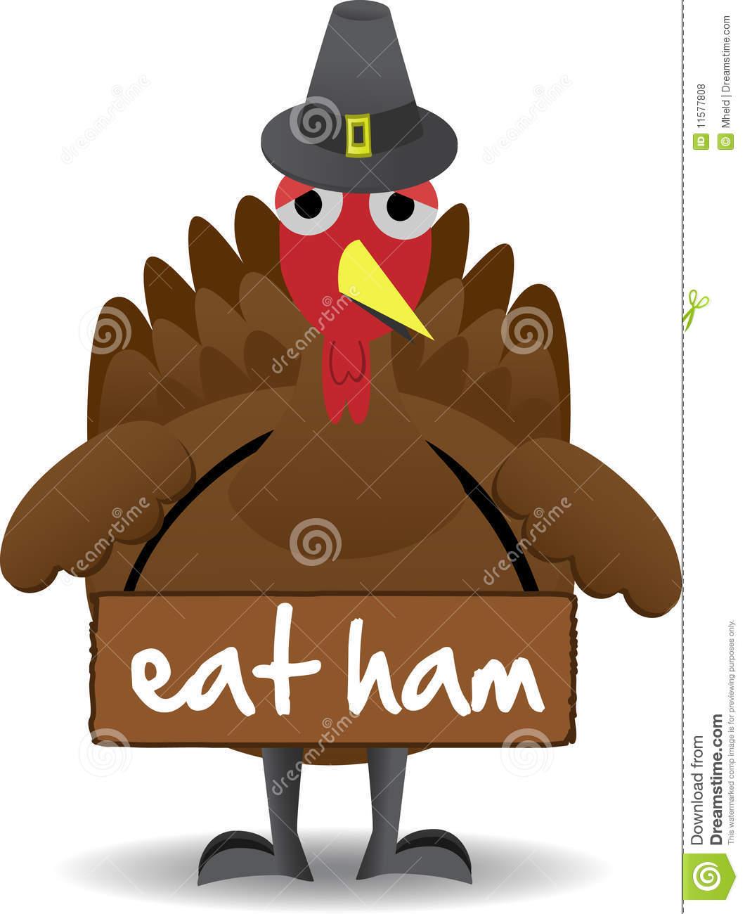 Eat More Ham Clipart.