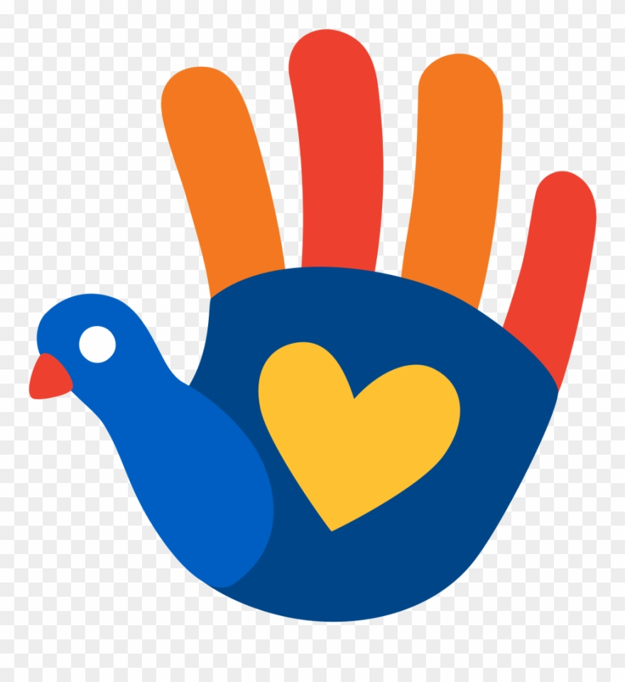 Venmo/aldi Friendsgiving Turkey Hand Emoji.