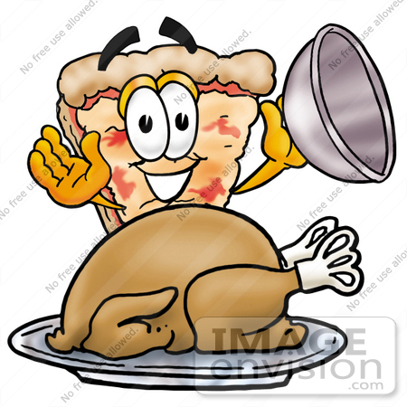 Thanksgiving Pizza Clipart.