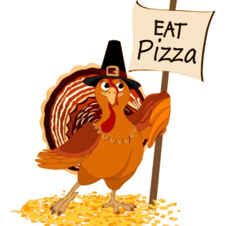 Thanksgiving Turkey Eating Clipart.