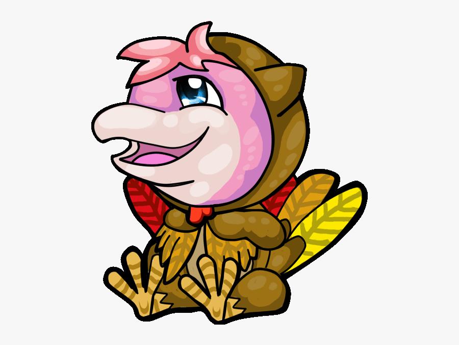 Animated Turkey Icon.