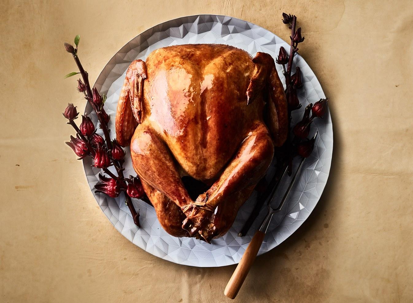 Alton Brown\'s Perfect Roast Turkey for Thanksgiving.