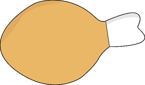 Cooked turkey leg clipart 3.