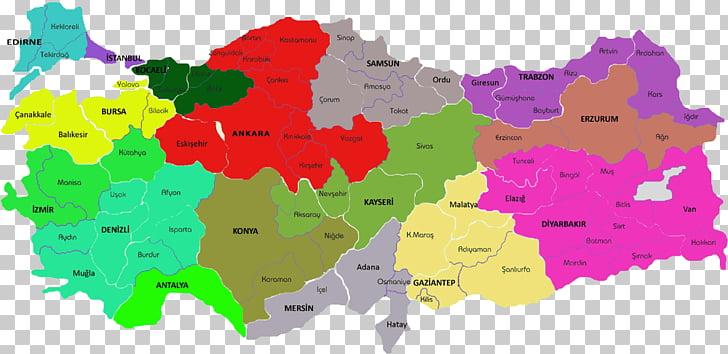 World map Mapa polityczna Turkey, map PNG clipart.