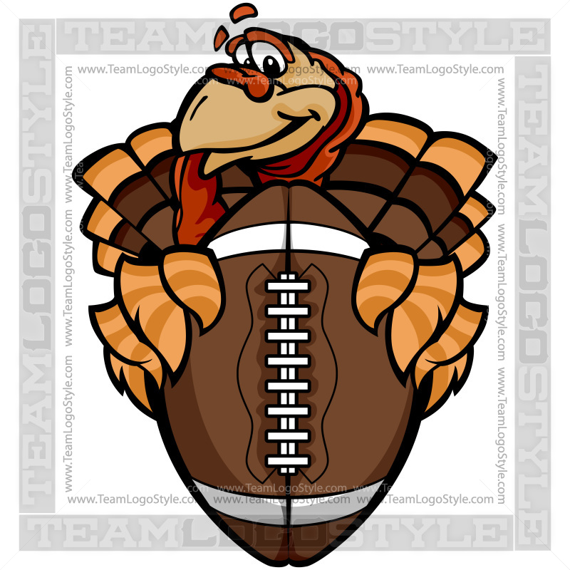Turkey Football Player Clipart.