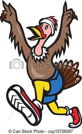 Running Turkey Trot.