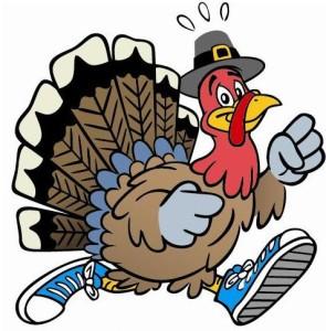 Turkey Running.