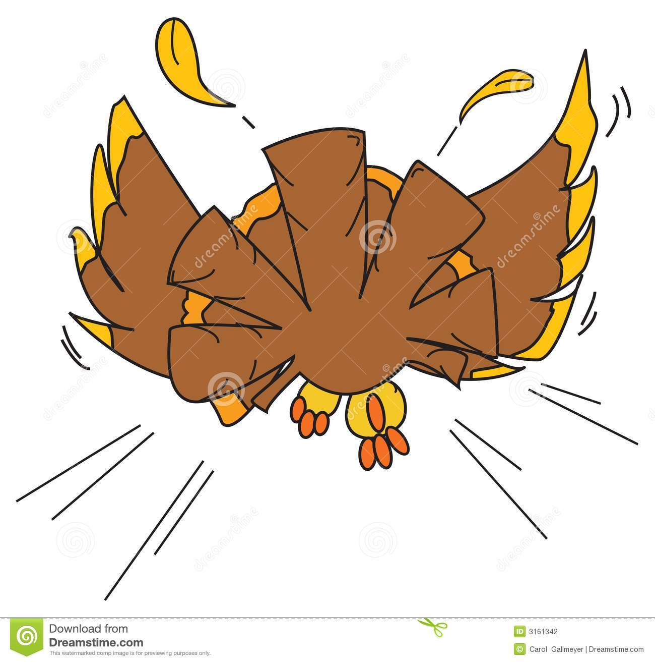 Running Cartoon Turkey Stock Photos, Images, & Pictures.