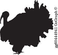 Turkey Silhouette Clip Art.