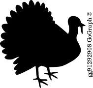 Turkey Silhouette Clip Art.
