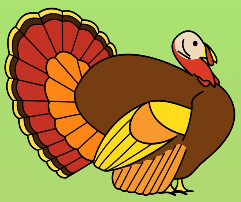 Turkey Feather Clip Art.