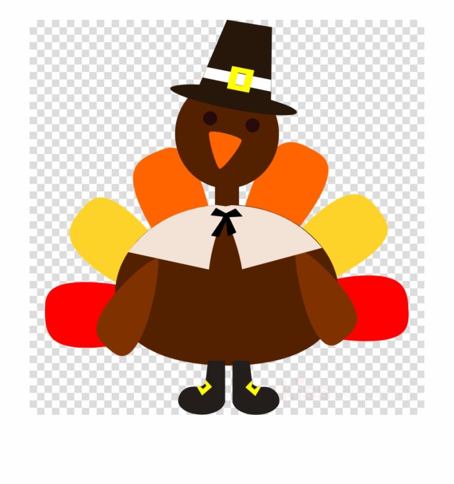 Cartoon Turkey Silhouette Clipart Turkey Thanksgiving.