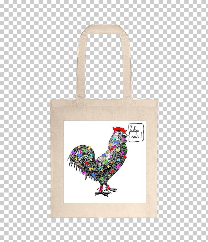 Rooster Tote Bag Chicken As Food Font PNG, Clipart.