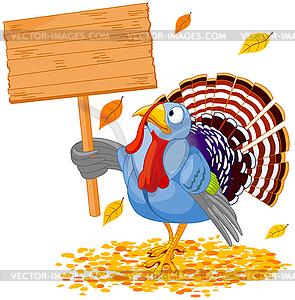 Turkey & Sign.