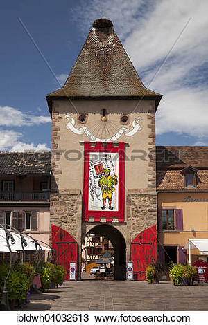 "Stock Photo of ""Untertor, Lower Gate or La porte de France."
