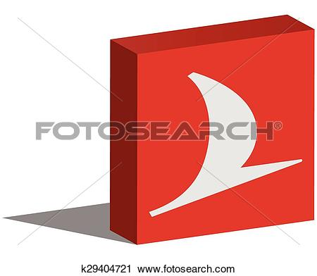 Clipart of Turkish Airlines k29404721.