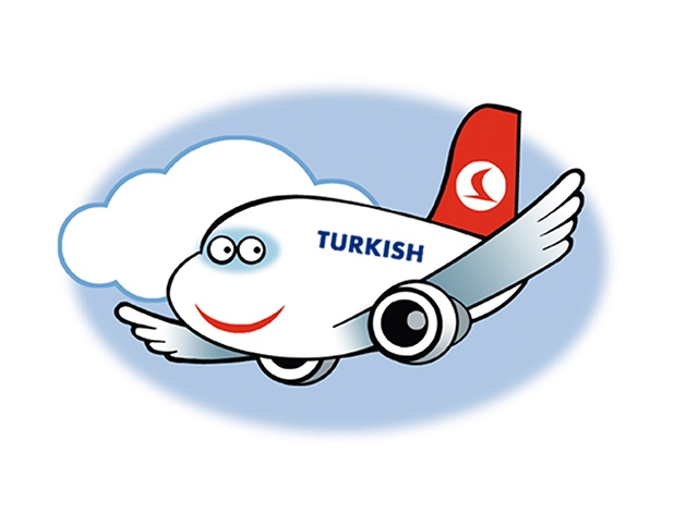 Mascot design for Turkish Airlines.