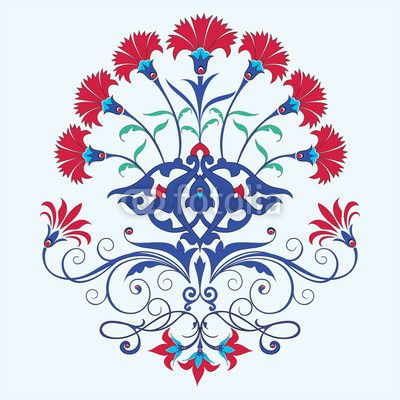 Turkish carnation clipart #20