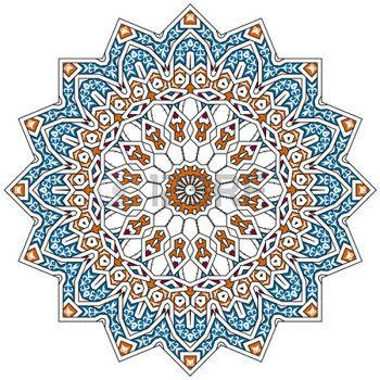 iranian traditional pattern.