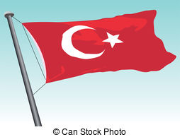 Turkish flag Clipart Vector and Illustration. 1,910 Turkish flag.