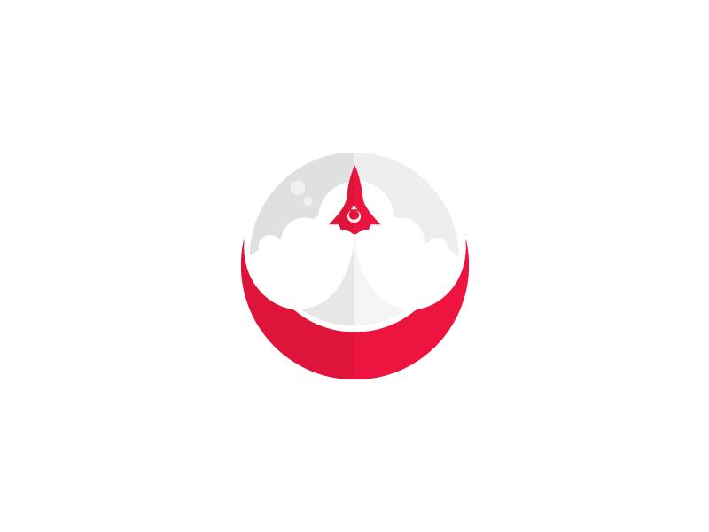 Turkish Space Agency (logo idea) by Safa Paksu on Dribbble.