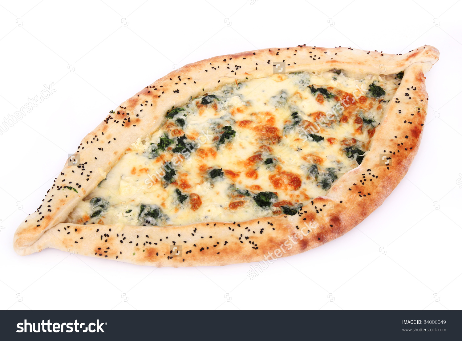 Turkish Pizza Stock Photo 84006049.