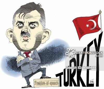 Turkish President News and Political Cartoons.