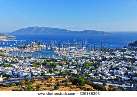 Boat Coast From Turkish Stock Photos, Royalty.
