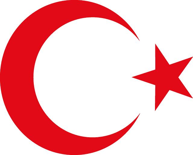 Free vector graphic: Turkish, Ottoman, Turkey, Flag.