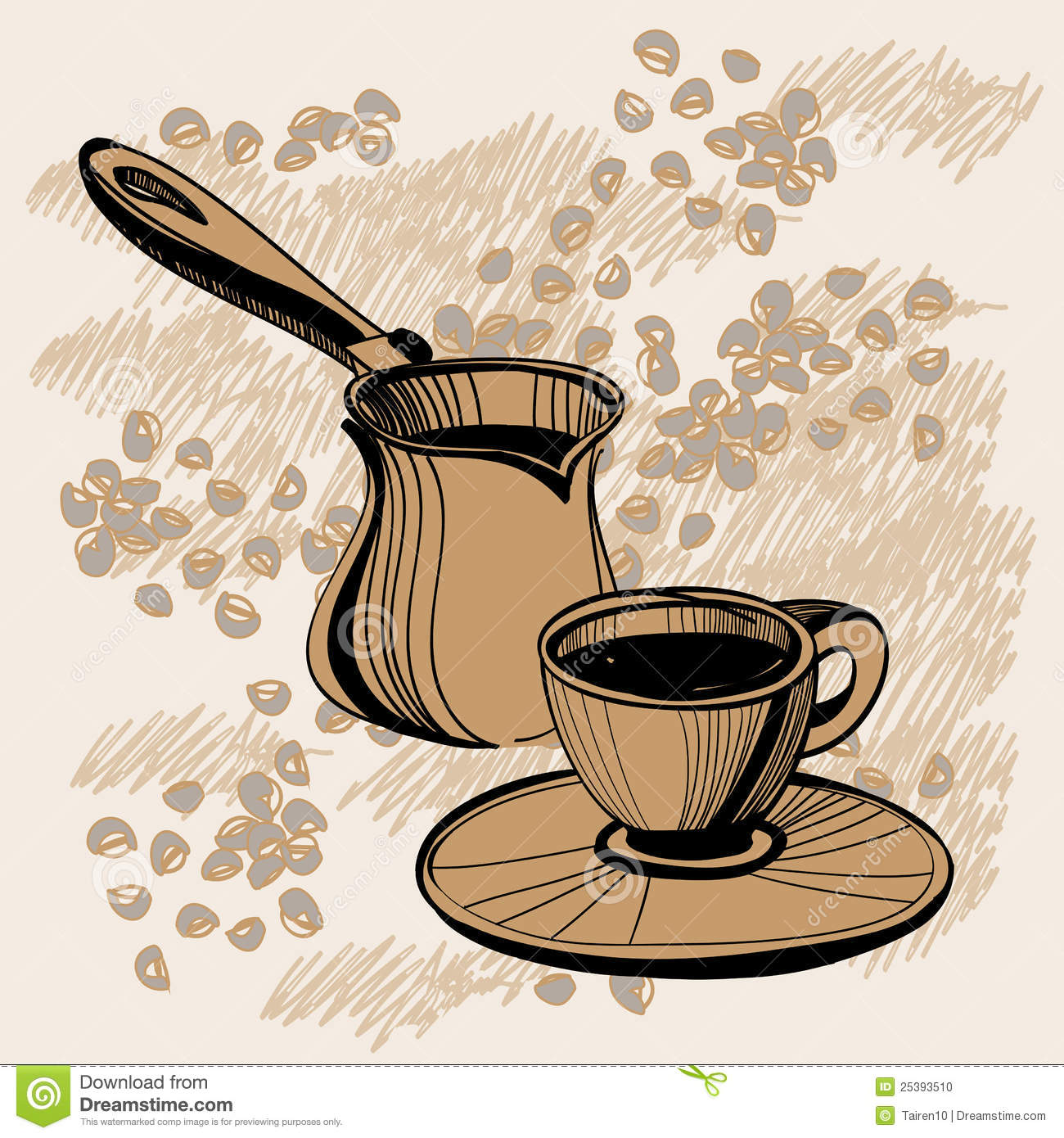 Showing post & media for Turkish coffee cartoon.