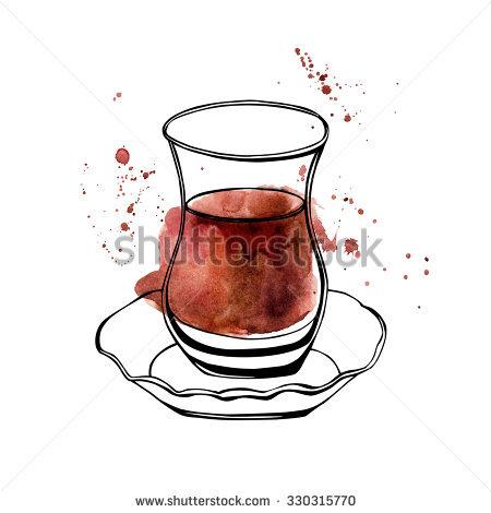 Turkish Tea Stock Vectors, Images & Vector Art.