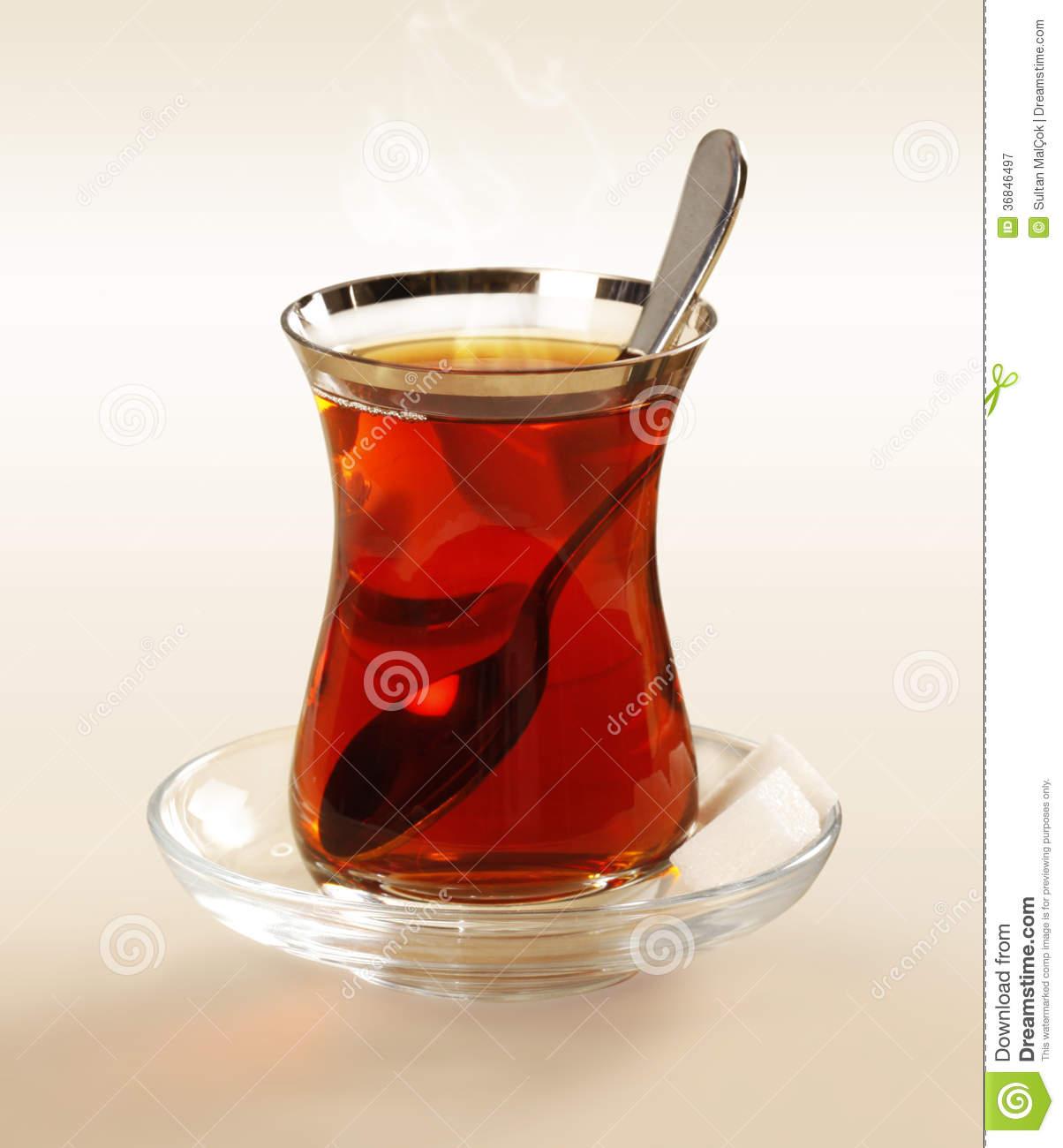 Turkish Tea Royalty Free Stock Photography.