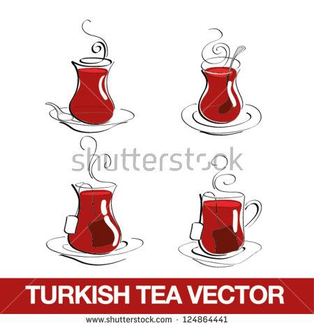 Turkish Tea Stock Images, Royalty.