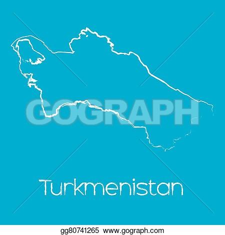 Turkmenistan clipart.