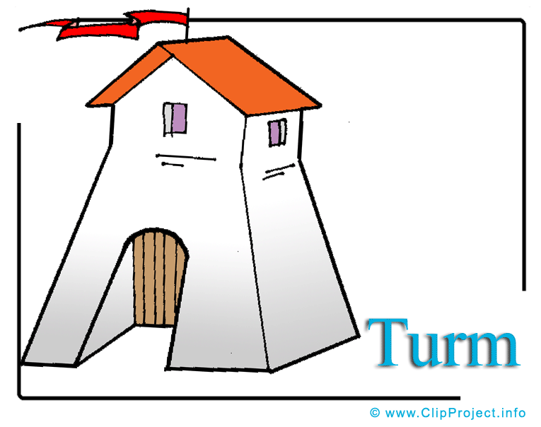 Turm Clipart free.