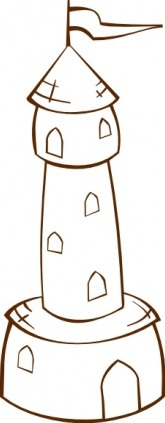 Clip Art City Tower Clipart.