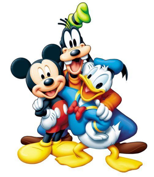 Turma do Mickey.