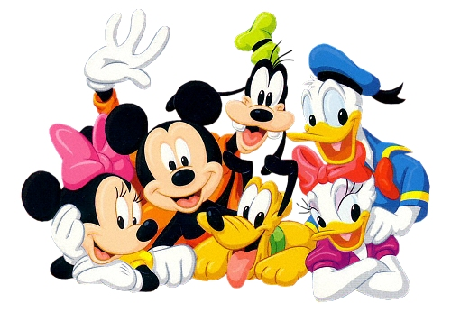 Mickey And Friends Birthday Clipart.