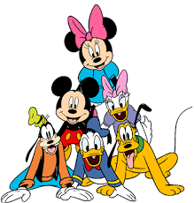 Image result for clipart turma do mickey.