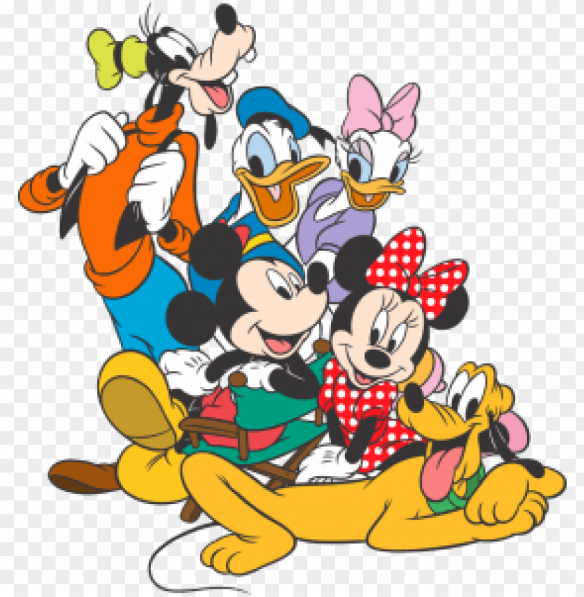 turma do mickey em PNG image with transparent background.