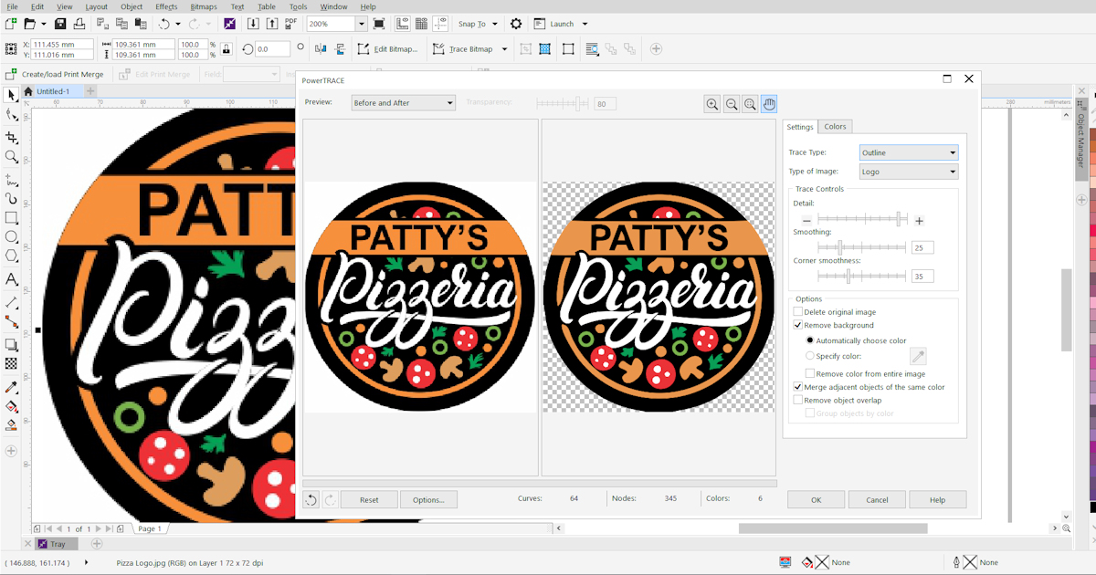 How to Convert JPG to Vector.