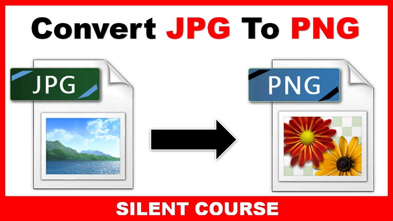 How To Convert JPG to PNG in Paint.